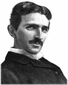 Nikola Tesla Portrait